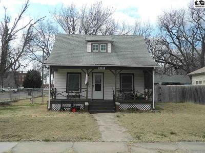 McPherson KS Single Family Home For Sale: $85,000