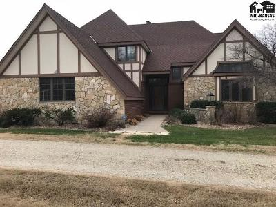 Hutchinson Single Family Home For Sale: 8100 N St Andrews Dr