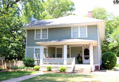 McPherson Single Family Home For Sale: 614 S Walnut St