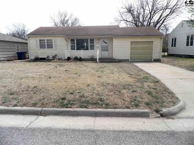 Hutchinson Single Family Home For Sale: 1003 W 20th Ave