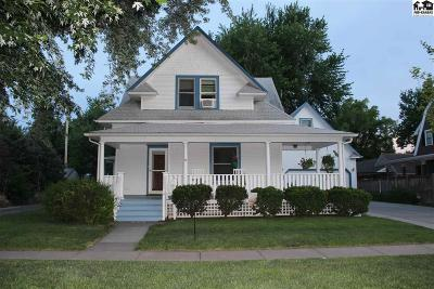 McPherson Single Family Home For Sale: 1314 E Euclid St