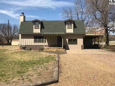 Hutchinson Single Family Home For Sale: 6101 N Cactus Dr