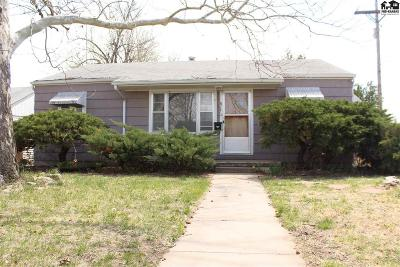 Hutchinson Single Family Home For Sale: 815 W 20th Ave
