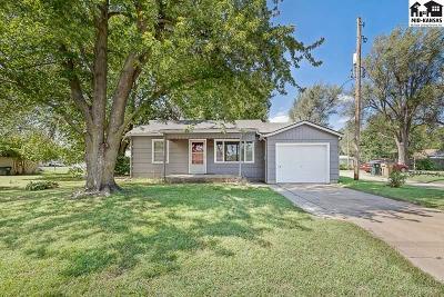 Hutchinson Single Family Home For Sale: 1407 N Van Buren St