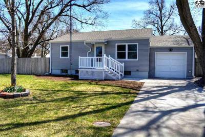 McPherson KS Single Family Home For Sale: $135,000