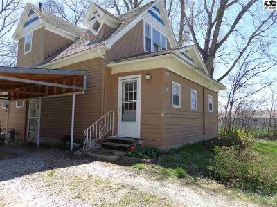 Lindsborg Single Family Home For Sale: 425 W McPherson St