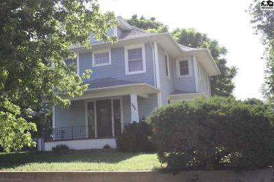 Pratt Single Family Home For Sale: 502 N Jackson St
