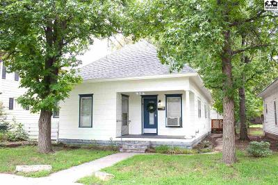 Hutchinson Single Family Home For Sale: 318 W 8th Ave