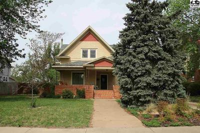 Pratt Single Family Home For Sale: 317 N Main St