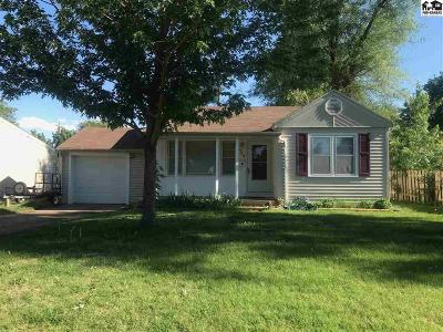 Hutchinson Single Family Home For Sale: 715 W 20th Ave