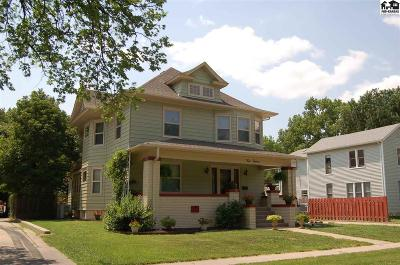 McPherson County Single Family Home Contingent On Sale And Cl: 412 S Maple St