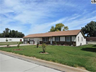 South Hutchinson Single Family Home Contingent On Sale And Cl: 102 E Ave A