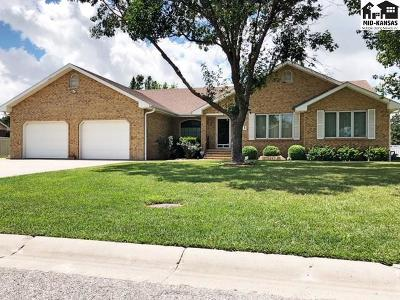 Single Family Home For Sale: 2707 Dickens Dr