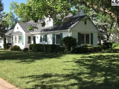 Hutchinson Single Family Home For Sale: 114 W 22nd Ave