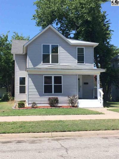 Hutchinson Single Family Home For Sale: 308 W 9th Ave