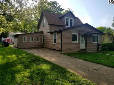 Lindsborg Single Family Home For Sale: 507 N 3rd St