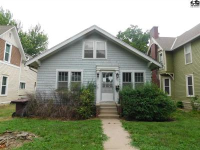 McPherson KS Single Family Home For Sale: $54,000