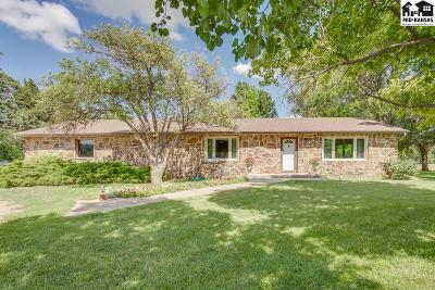 Hutchinson Single Family Home For Sale: 13106 S Whiteside Rd