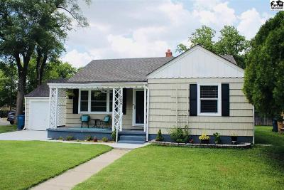 Reno County Single Family Home For Sale: 726 W 17th Ave