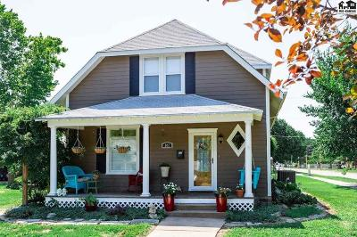 Lindsborg Single Family Home For Sale: 102 S Pine St