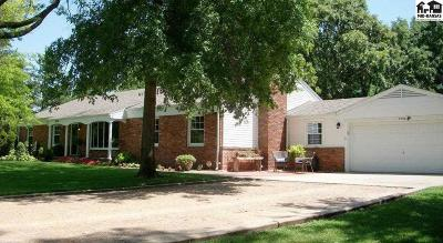 Hutchinson Single Family Home Contingent On Sale And Cl: 2906 N Meadowlake Dr