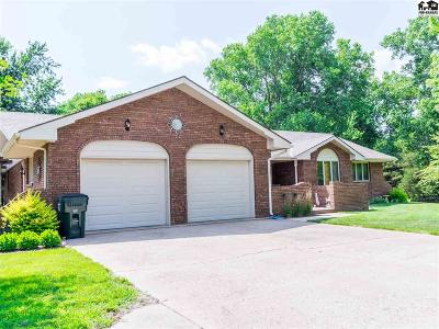 Hutchinson Single Family Home Contingent On Sale And Cl: 1005 N Buhler Rd