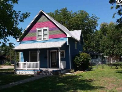 Lindsborg Single Family Home For Sale: 330 S Main St