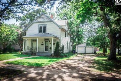 Lindsborg Single Family Home Contingent On Sale And Cl: 127 N 1st St