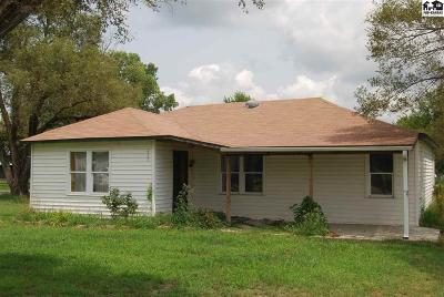 Hutchinson Single Family Home For Sale: 628 Duffy Rd
