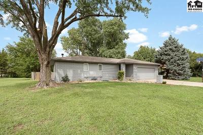 Hutchinson Single Family Home For Sale: 4303 Foothill Dr