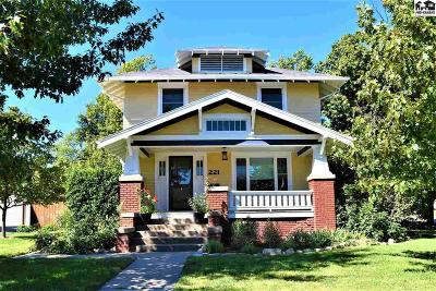 McPherson Single Family Home For Sale: 221 N Walnut St