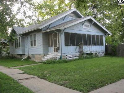 McPherson KS Single Family Home For Sale: $80,000