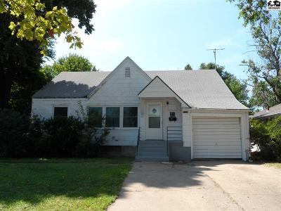 McPherson KS Single Family Home For Sale: $75,000