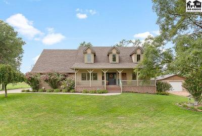 Reno County Single Family Home For Sale: 10471 E Snokomo Rd