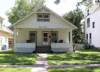 McPherson KS Single Family Home For Sale: $92,000