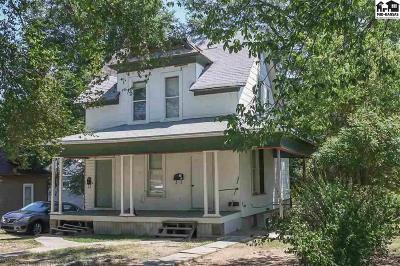 Pratt KS Single Family Home For Sale: $28,000