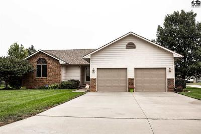 McPherson Single Family Home For Sale: 909 Turkey Creek Dr