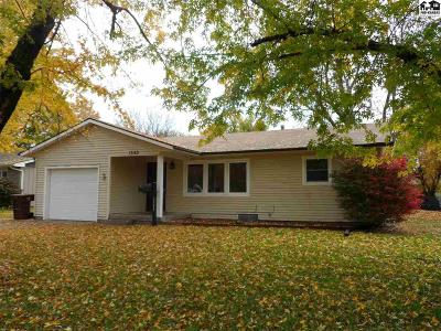 McPherson Single Family Home For Sale: 1342 N High Dr