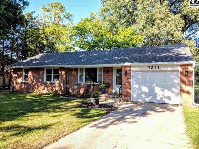Reno County Single Family Home For Sale: 3611 N Waldron St