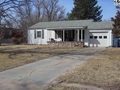 Hutchinson Single Family Home For Sale: 3209 N Walnut St