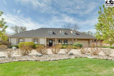 Hutchinson Single Family Home For Sale: 205 Buckskin Rd