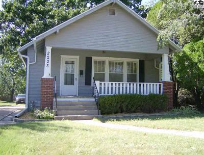 Hutchinson Single Family Home For Sale: 2223 N Monroe St