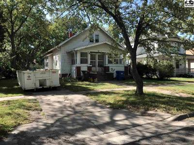 McPherson Single Family Home For Sale: 505 N Oak