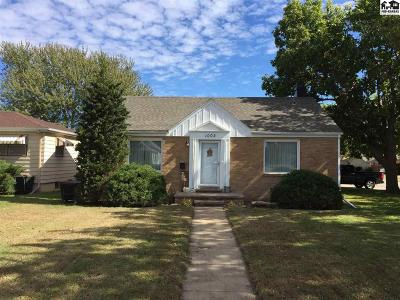 Pratt KS Single Family Home For Sale: $162,500