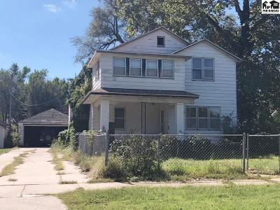 Hutchinson KS Single Family Home For Sale: $38,000