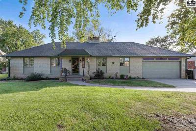 Hutchinson Single Family Home For Sale: 3311 Dartmouth Rd