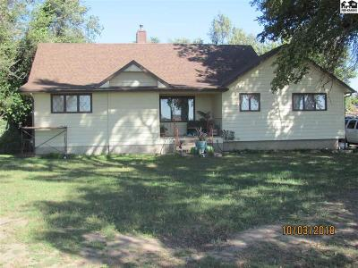 Reno County Single Family Home Contingent Other Co: 30618 W Clark Rd
