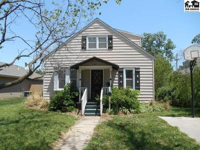 McPherson KS Single Family Home For Sale: $118,000