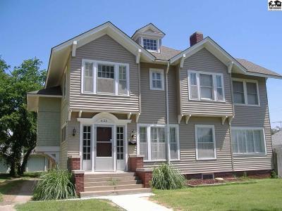 Hutchinson Single Family Home For Sale: 620 E Avenue A