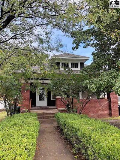 Hutchinson Single Family Home For Sale: 28 E 17th Ave